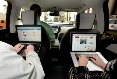 Internet en los autos, coches o carros