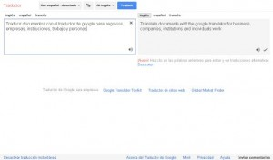 traductor google translate
